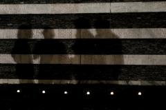 Verbania Fondotoce (VB), Italia. Parco della Memoria e della Pace. La sera della commemorazione dei 42 fucilati di Fondotoce.